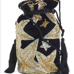 Stunning celestial drawstring bag